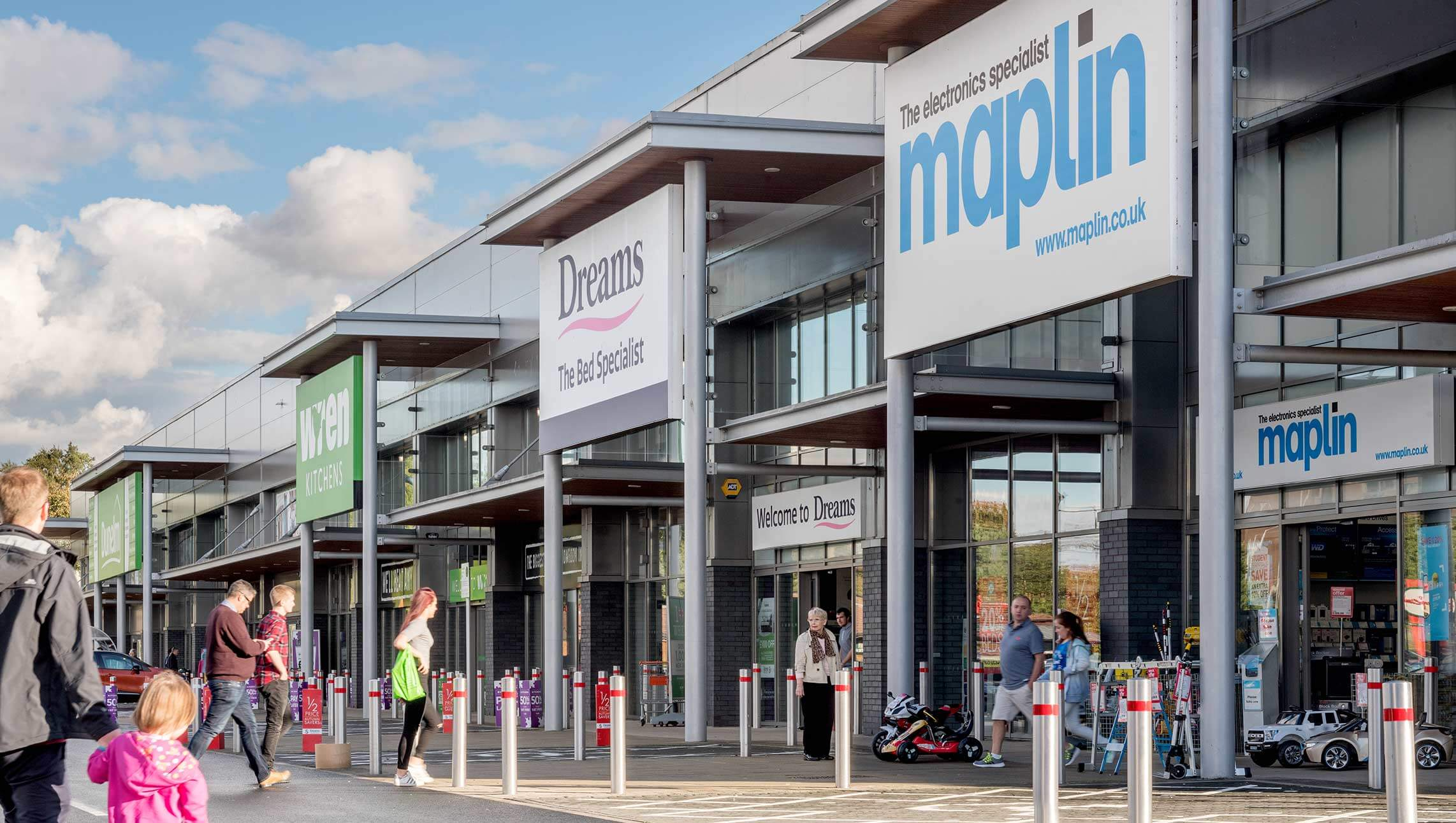 AshbyCapital completes third retail park purchase