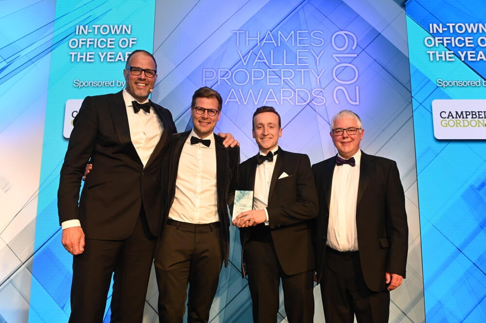 The Future Works wins at the Thames Valley Property Awards 2019